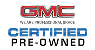 GMC Certified Vehicle