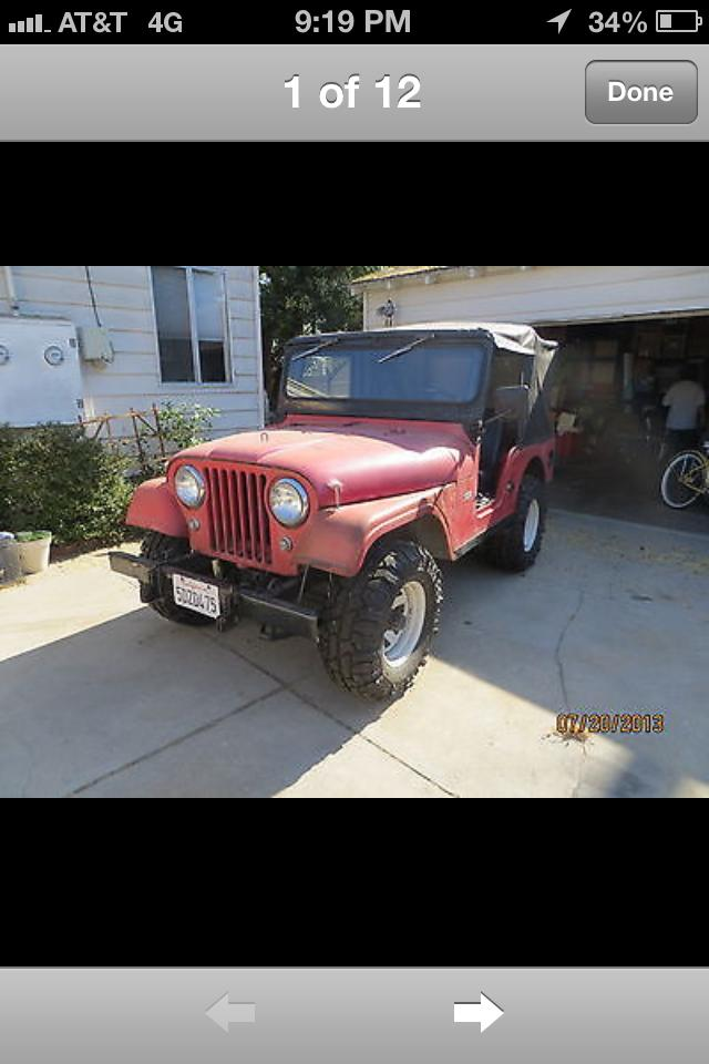 1963 Jeep CJ-5   at CarsBikesBoats.com in Round Mountain TX