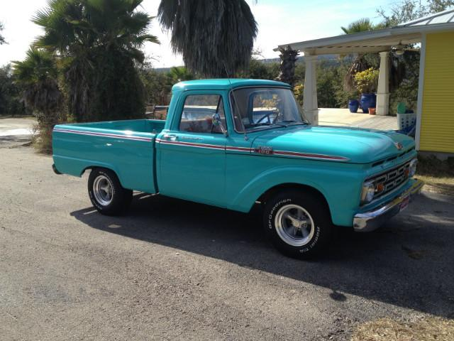 1964 Ford F-100 Custom Cab Short bed at CarsBikesBoats.com in Round Mountain TX