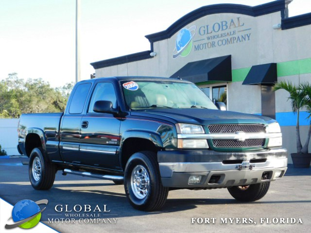 "2004 Chevrolet Silverado 2500HD Ext Cab 143.5"" WB 4WD at Global Wholesale Motor Co INC. in Fort Myers FL"