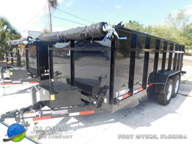 2018 Anderson D7167TLP DUMP TRAILER at Global Wholesale Motor Co INC. in Fort Myers FL