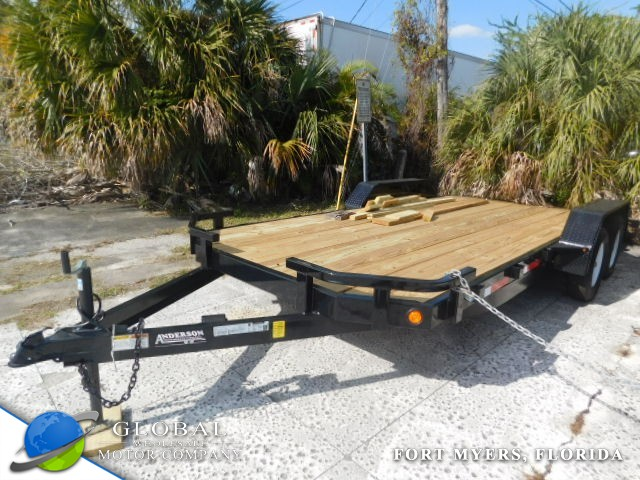 2018 Anderson WC718 LOW BED TRAILER at Global Wholesale Motor Co INC. in Fort Myers FL