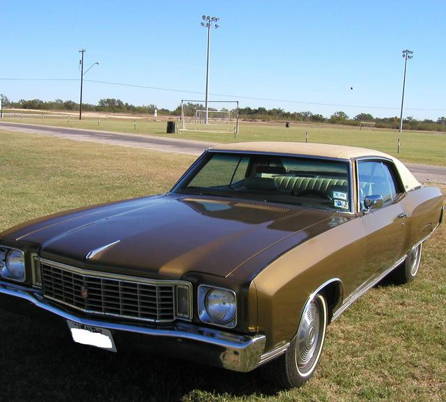 more details - chevrolet monte carlo
