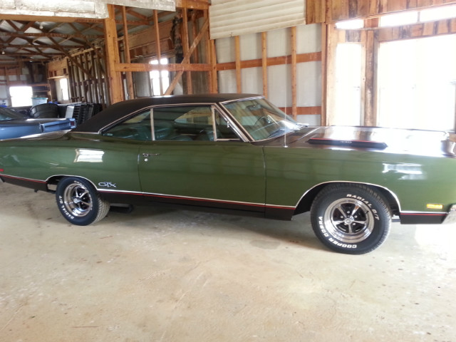 1969 Plymouth Satellite GTX at Lucas Mopars in Cuero TX