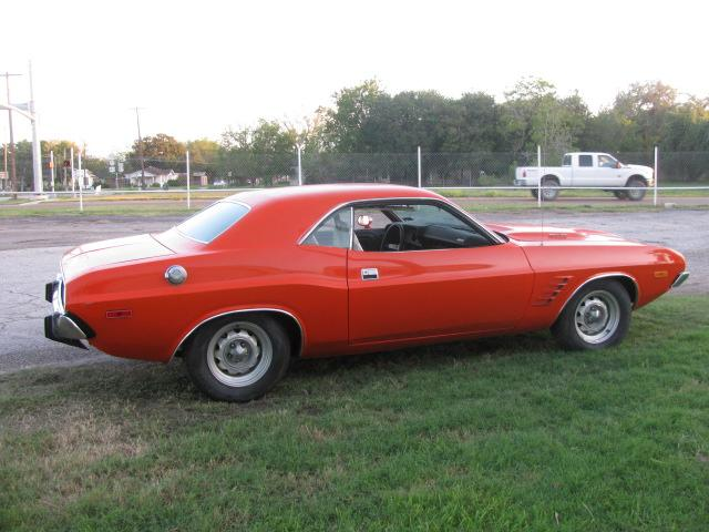 1973 Dodge Challenger Rallye at Lucas Mopars in Cuero TX