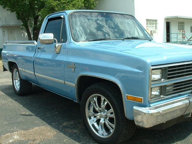 Chevrolet C/K 1500 - 1984 Chevrolet C/K 1500 - 1984 Chevrolet