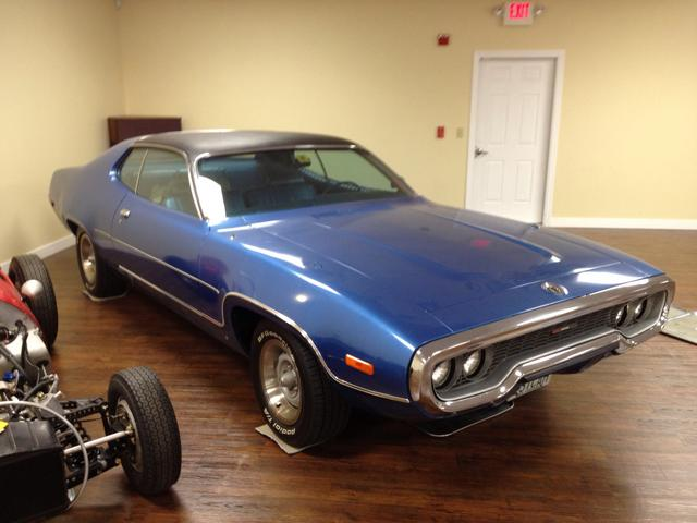 1972 Plymouth Satellite   at Lucas Mopars in Cuero TX