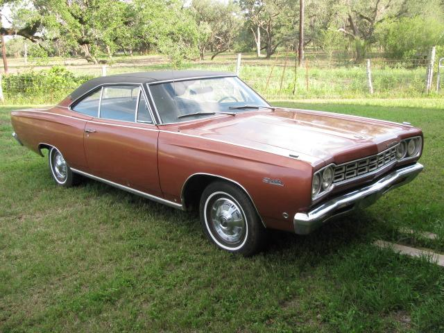 1968 Plymouth Satellite   at Lucas Mopars in Cuero TX