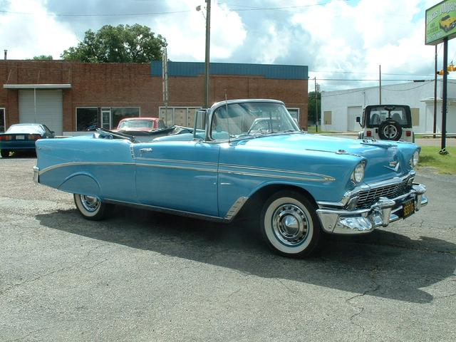 1956 Chevrolet Bel Air   at Lucas Mopars in Cuero TX