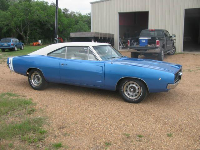 1968 Dodge Charger RT at Lucas Mopars in Cuero TX