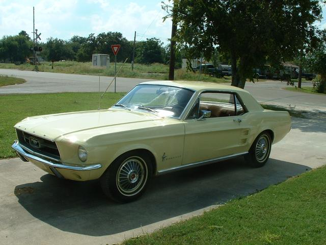 1967 Ford Mustang   at Lucas Mopars in Cuero TX