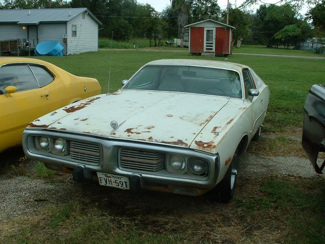 1974 Dodge Charger   at Lucas Mopars in Cuero TX