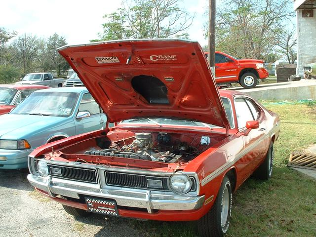 1972 Dodge Demon   at Lucas Mopars in Cuero TX