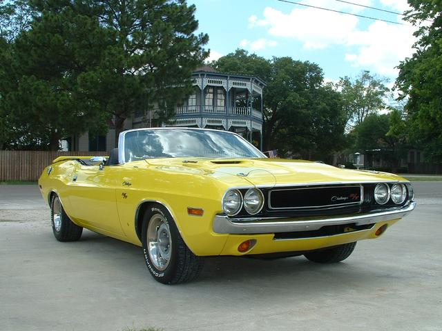 1970 Dodge Challenger convertible at Lucas Mopars in Cuero TX