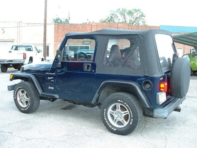 Jeep Wrangler sport - 2000 Jeep Wrangler sport - 2000 Jeep sport