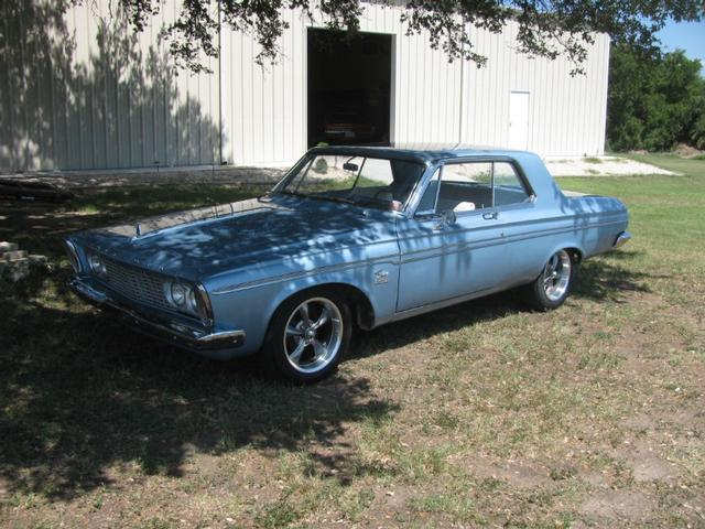1963 Plymouth fury sport