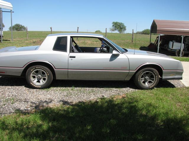 1986 chevrolet monte carlo ss for sale in cuero tx from. Black Bedroom Furniture Sets. Home Design Ideas