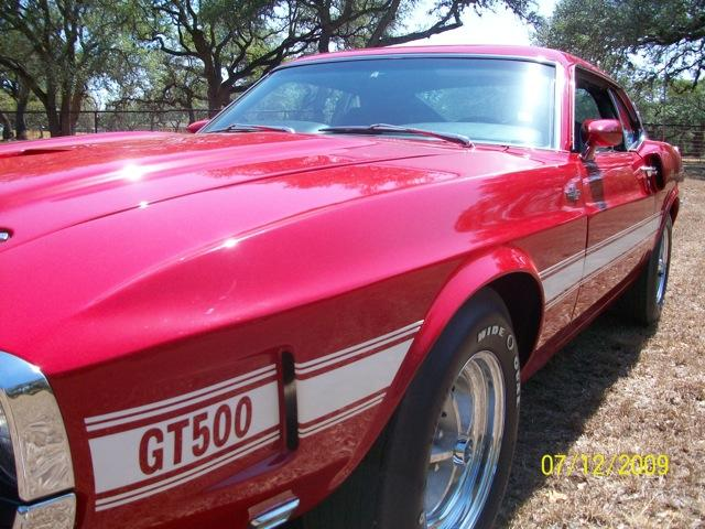 Ford Mustang SHELBY GT 500 - 1969 Ford Mustang SHELBY GT 500 - 1969 Ford SHELBY GT 500