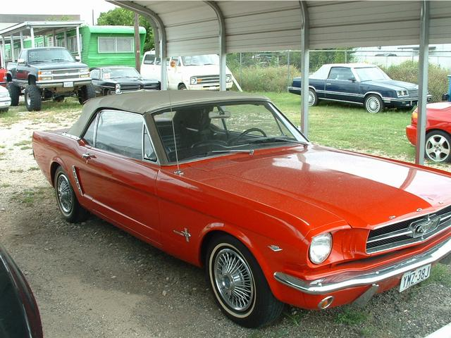 1965 Ford Mustang  at Lucas Mopars in Cuero TX