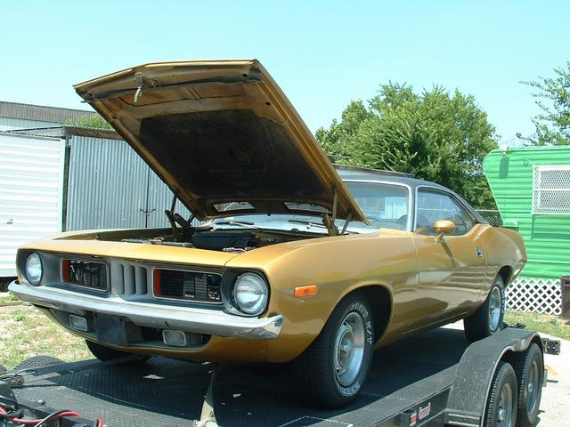1972 Plymouth Barracuda  at Lucas Mopars in Cuero TX