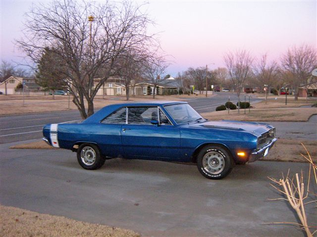 1969 Dodge Dart SWINGER for sale in Cuero TX from Lucas Mopars