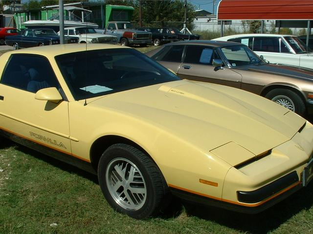 1987 Pontiac Firebird  at Lucas Mopars in Cuero TX
