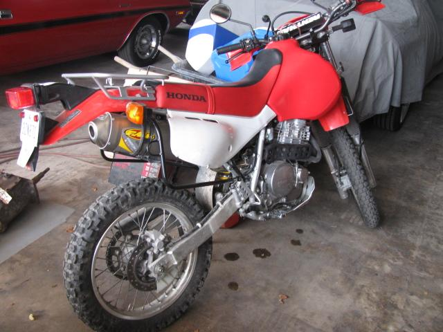 2003 Honda XR 650   at Lucas Mopars in Cuero TX