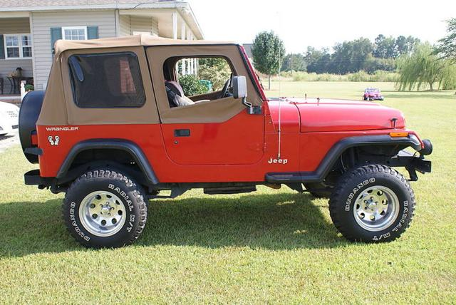 1995 jeep wrangler for sale in cuero tx from lucas mopars. Black Bedroom Furniture Sets. Home Design Ideas