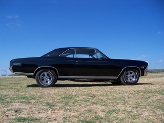 1966 Chevrolet Chevelle SS at Lucas Mopars in Cuero TX