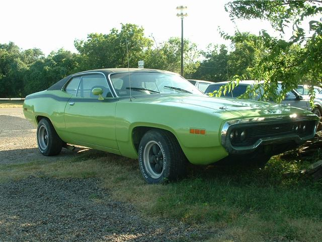 1971 Plymouth Satellite   at Lucas Mopars in Cuero TX