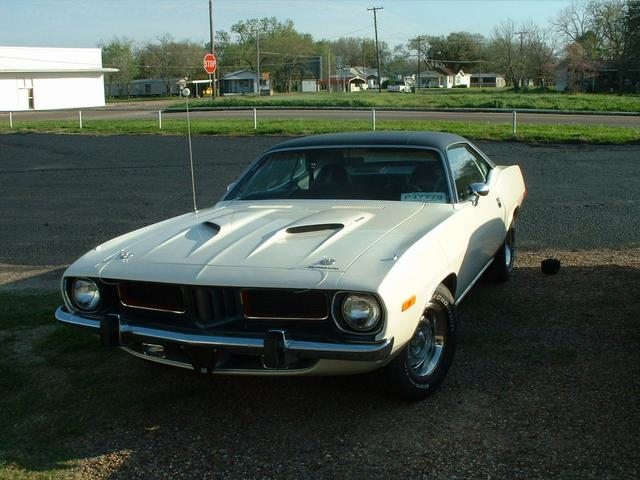 1974 Plymouth Barracuda  at Lucas Mopars in Cuero TX