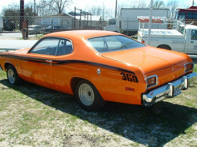 1974 Plymouth Duster  at Lucas Mopars in Cuero TX