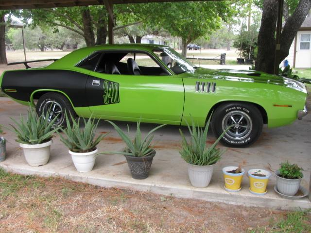 1971 Plymouth Barracuda 'CUDA at Lucas Mopars in Cuero TX