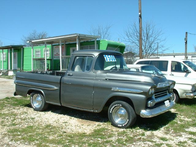 1959 Chevrolet appache  at Lucas Mopars in Cuero TX