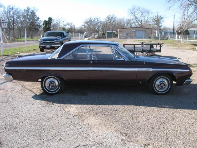 1964 Plymouth FURY SPORT FURY at Lucas Mopars in Cuero TX