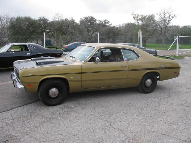 1971 Plymouth Duster   at Lucas Mopars in Cuero TX