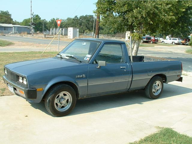 1986 Dodge Ram 50   at Lucas Mopars in Cuero TX