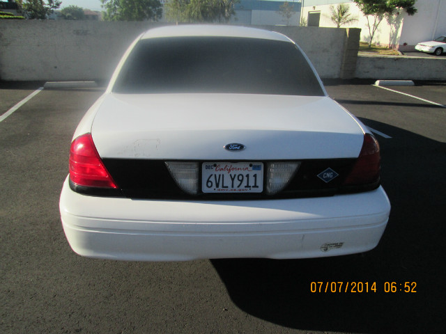 2001 Ford Crown Victoria Police Interceptor For Sale In