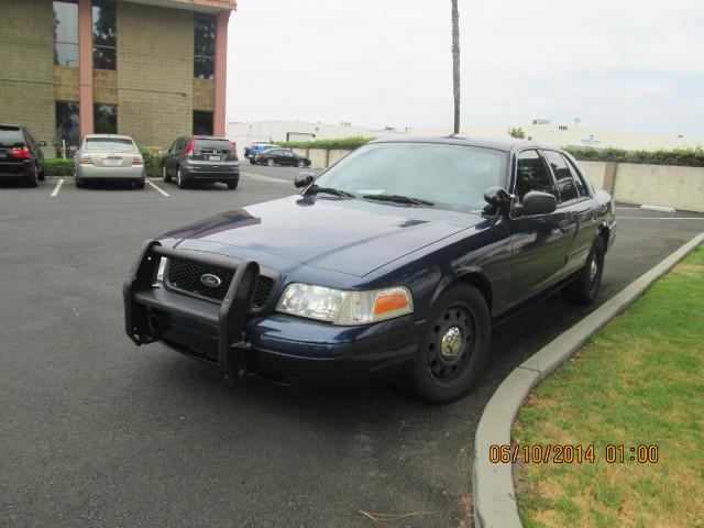 2006 Ford Crown Victoria Police Interceptor at Wild Rose Motors - PoliceInterceptors.info in Anaheim CA