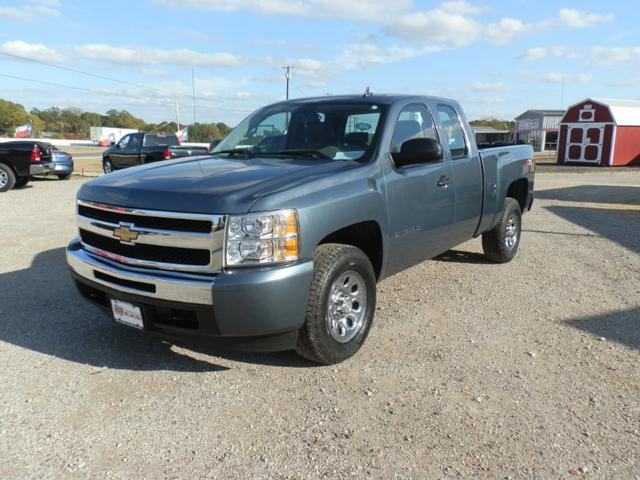 2009 Chevrolet Silverado 1500 EXT CAB 4X4 at Texas Frontline Trucks in Canton TX
