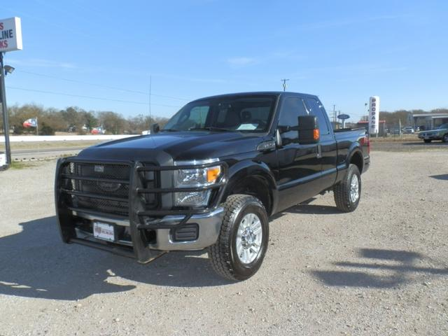 2016 Ford Super Duty F-250 SRW EXT CAB 4X4 at Texas Frontline Trucks in Canton TX