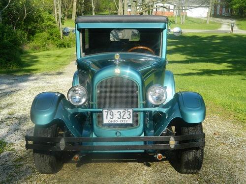 Chrysler Model 60 2 Door Sedan - 1927 Chrysler Model 60 2 Door Sedan - 1927 Chrysler 2 Door Sedan