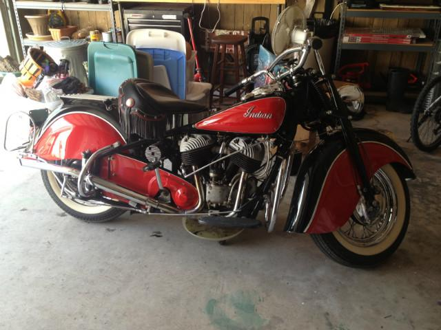 1948 Indian Chief   at CarsBikesBoats.com in Round Mountain TX