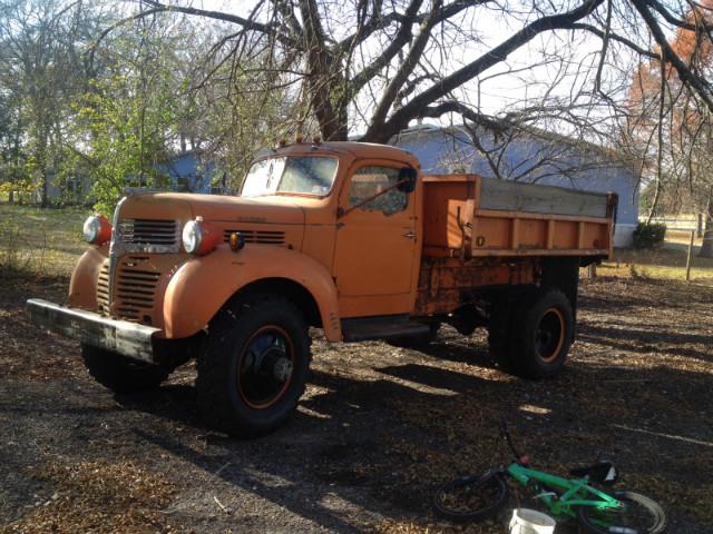 Dodge VF-404 4X4 Dump Truck - 1940 Dodge VF-404 4X4 Dump Truck - 1940 Dodge 4X4 Dump Truck