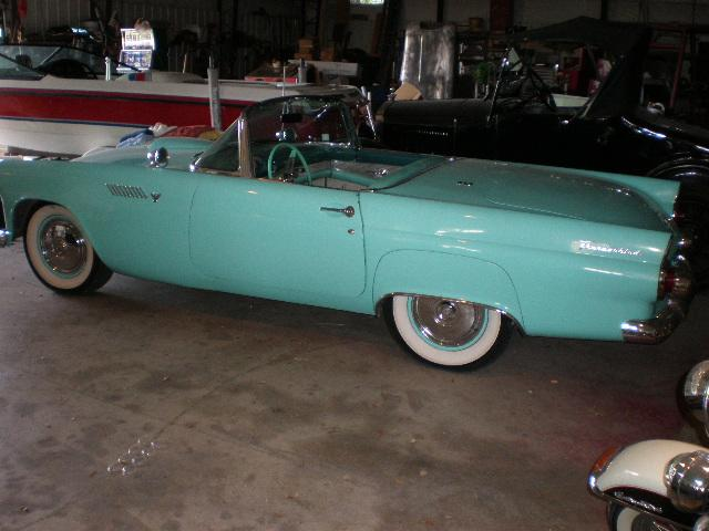 1955 Ford Thunderbird Roadster at CarsBikesBoats.com in Round Mountain TX