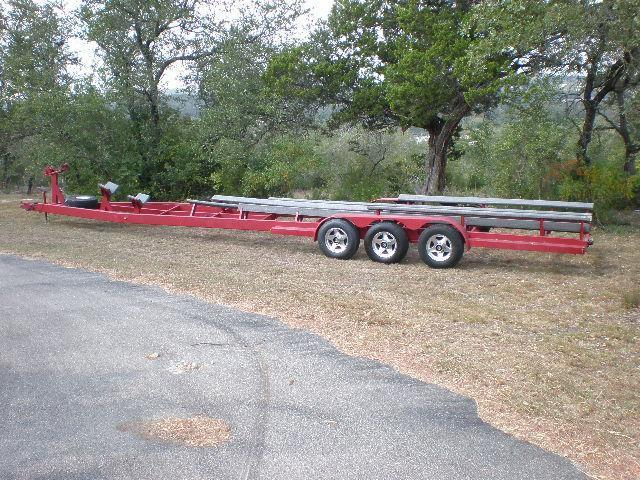 more details - boat trailer - 42 foot