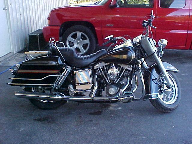 Harley-Davidson FLHX Electra Glide Special Edi Black - 1984 Harley-Davidson FLHX Electra Glide Special Edi Black - 1984 Harley-Davidson Black