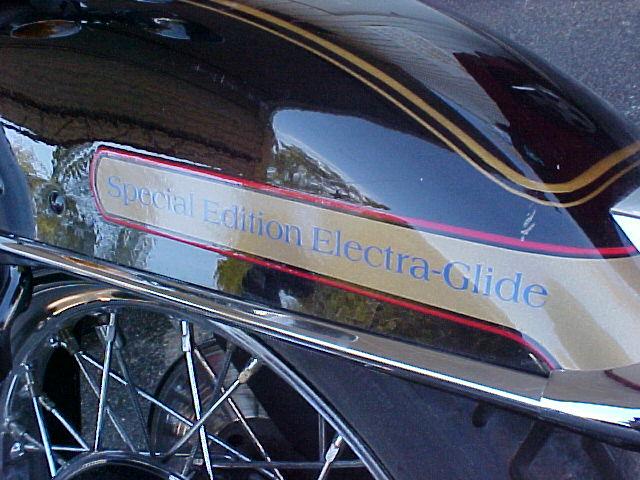 1984 Harley-Davidson FLHX Electra Glide Special Edi Black