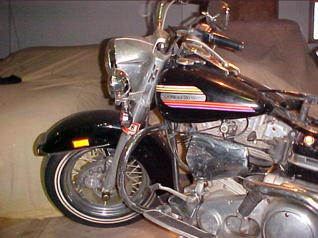 Harley-Davidson FLH Electra Glide - 1974 Harley-Davidson FLH Electra Glide - 1974 Harley-Davidson