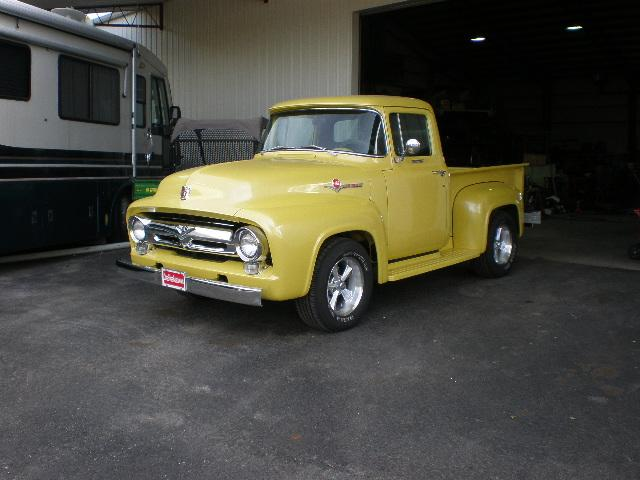 Ford F-100 Shortbed Pickup - 1956 Ford F-100 Shortbed Pickup - 1956 Ford Shortbed Pickup